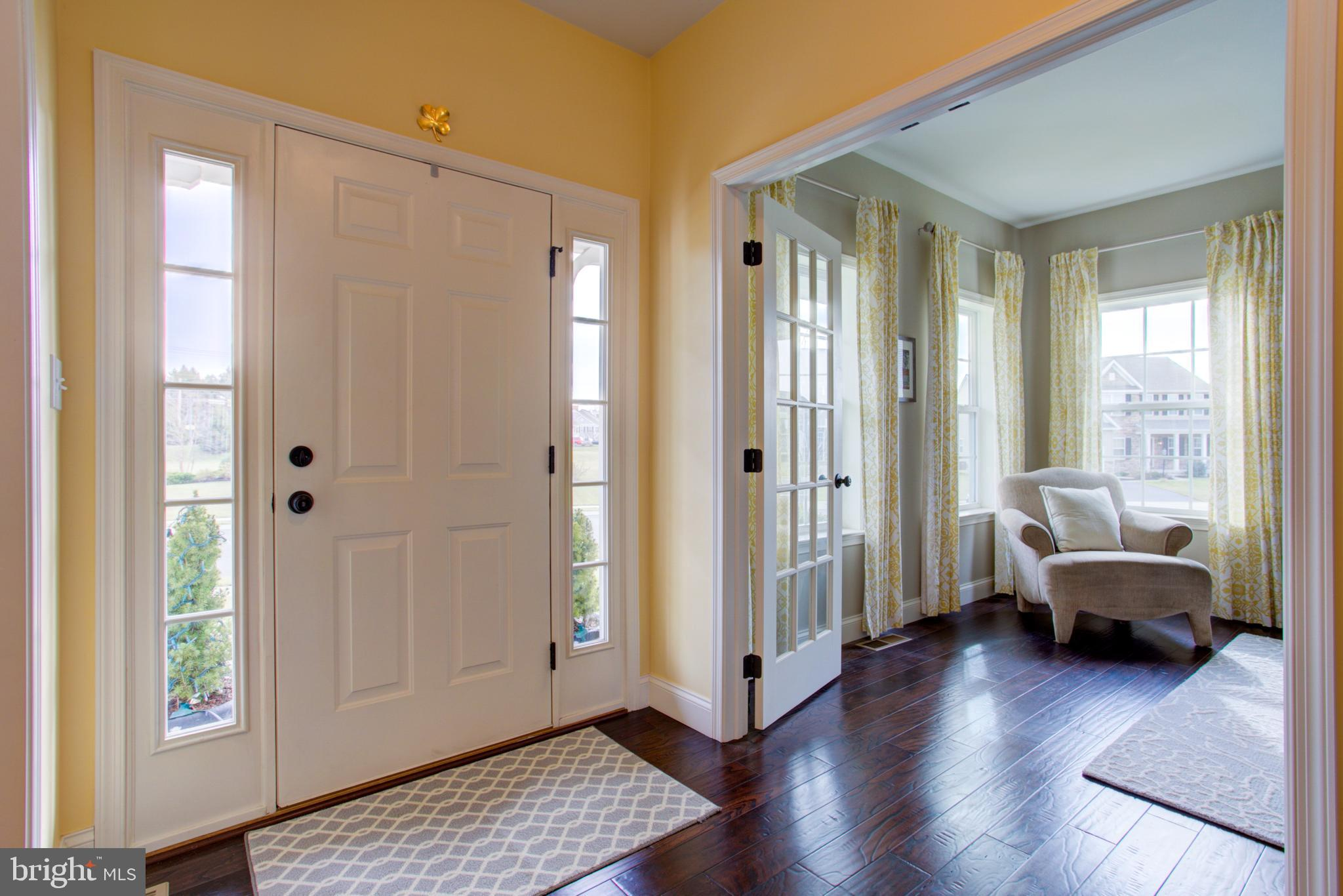Entrance of Home & French Doors to Office