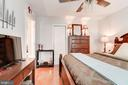 Spacious Master (king bed here) w/ walk-in closet - 3872 9TH ST SE #102, WASHINGTON