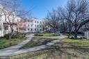 Expansive courtyard - 3872 9TH ST SE #102, WASHINGTON
