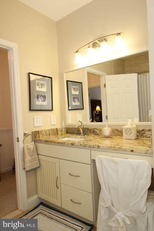 Hall bath remodeled 2013 - 20812 MIRANDA FALLS SQ, STERLING