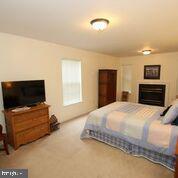 Rec. room or bedroom space, gas fireplace - 20812 MIRANDA FALLS SQ, STERLING