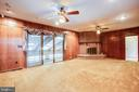 FAM RM FIREPLACE, BKCASE, GUN CABINETS & WET BAR - 11315 NORTH CLUB DR, FREDERICKSBURG
