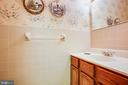 HALF BATH OFF UTILITY ROOM AND OFFICE - 11315 NORTH CLUB DR, FREDERICKSBURG