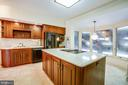 KITCHEN OVERLOOKING POOL - 11315 NORTH CLUB DR, FREDERICKSBURG