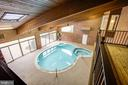 POOL from FAMILY ROOM BALCONY - 11315 NORTH CLUB DR, FREDERICKSBURG