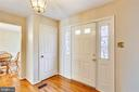 Foyer - 4405 CLIFTON SPRING CT, OLNEY