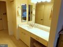 Vanity in 2nd Bedroom - 3801 CANTERBURY RD #514, BALTIMORE