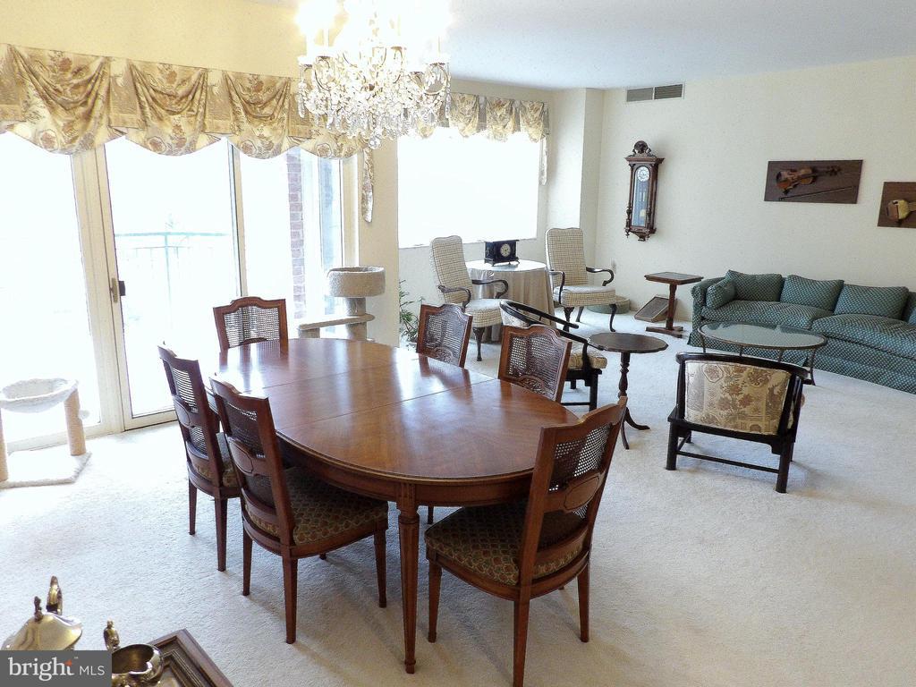 Dining Room - 3801 CANTERBURY RD #514, BALTIMORE