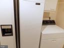 Full Laundry Room - Refrigerator/Freezer - 3801 CANTERBURY RD #514, BALTIMORE