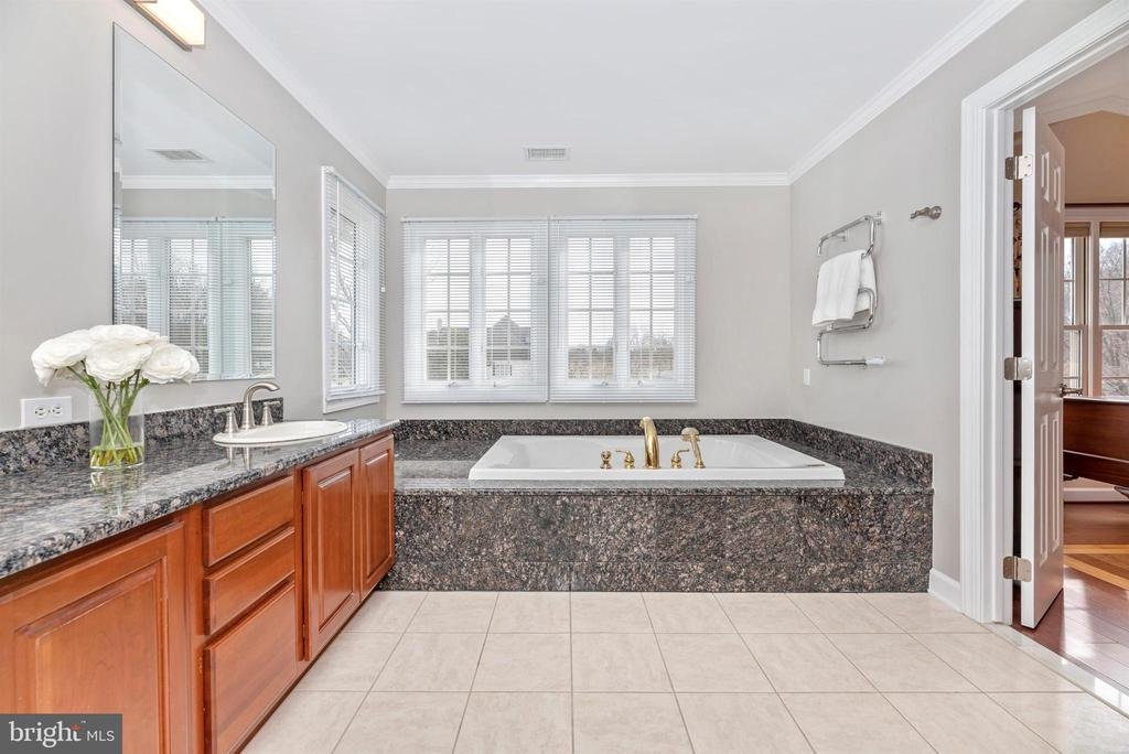 Spa Master Bath with Jetted Tub - 5221 MUIRFIELD DR, IJAMSVILLE