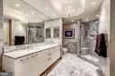 Marble Master Bath - 1881 N NASH ST #1211, ARLINGTON