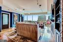 Expansive Living Room with Custom Built-Ins - 1881 N NASH ST #1211, ARLINGTON