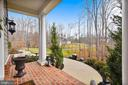 VIEW FROM FRONT DOWN DRIVE - 8 SNAPDRAGON DR, STAFFORD