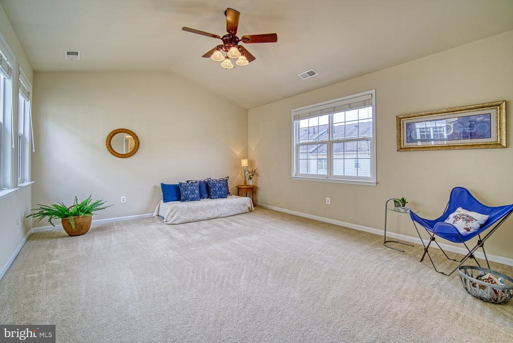 2nd  bedroom with ceiling fan, walk in closet - 19348 GARDNER VIEW SQ, LEESBURG