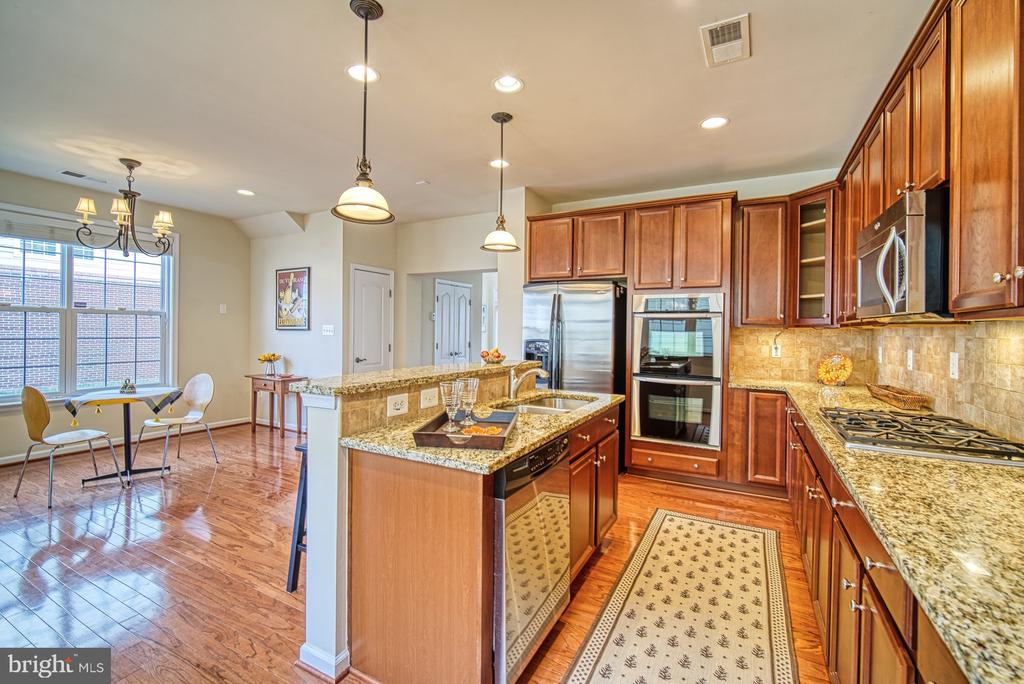 Granite counters - 19348 GARDNER VIEW SQ, LEESBURG