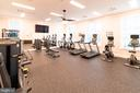Your fitness center in the Clubhouse. - 6103 OLIVET DR, ALEXANDRIA