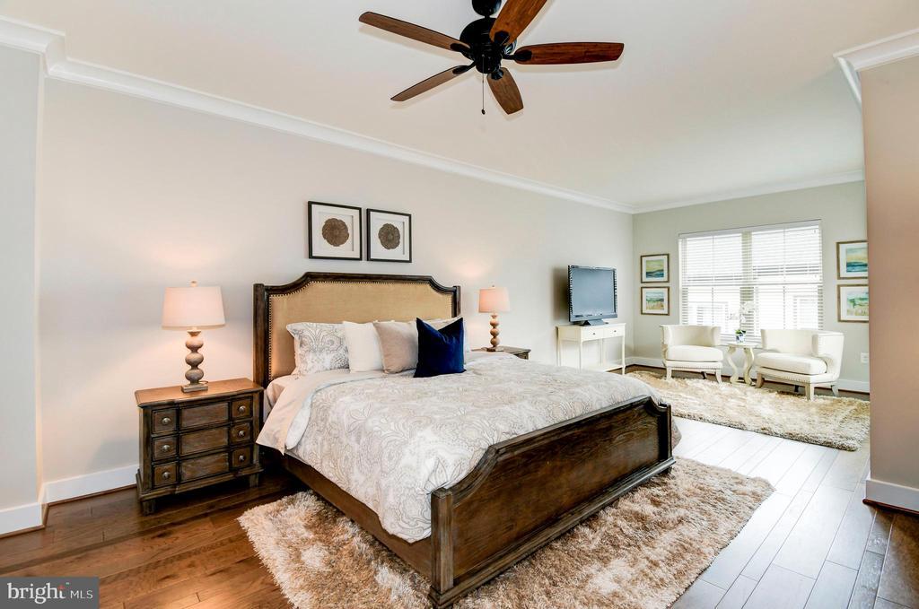Your master suite provides a serene retreat. - 6103 OLIVET DR, ALEXANDRIA