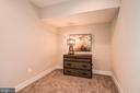 First level bonus room. Storage? Bar? Office? Den? - 6103 OLIVET DR, ALEXANDRIA