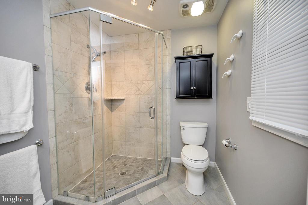 Gorgeous master shower - 111 FAIRWAY DR, LOCUST GROVE