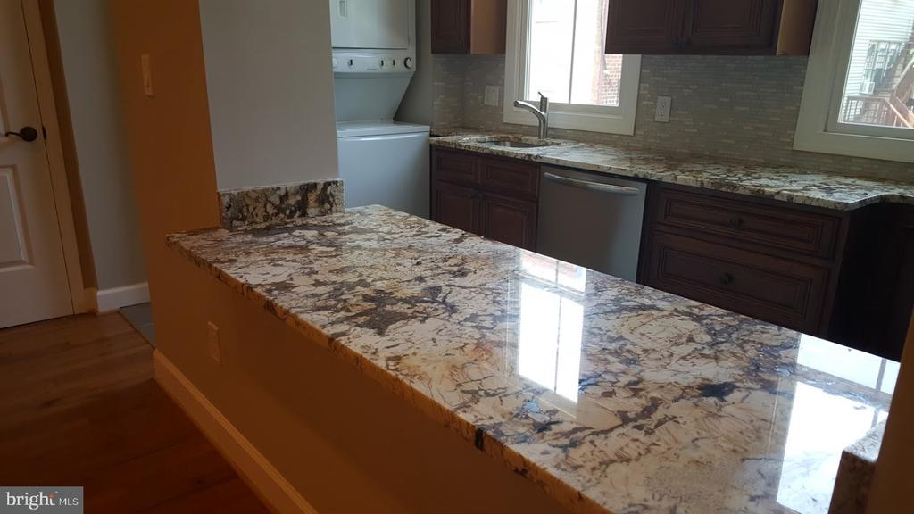 Kitchens with Granite Counter open to Living Area - 208 T ST NE, WASHINGTON