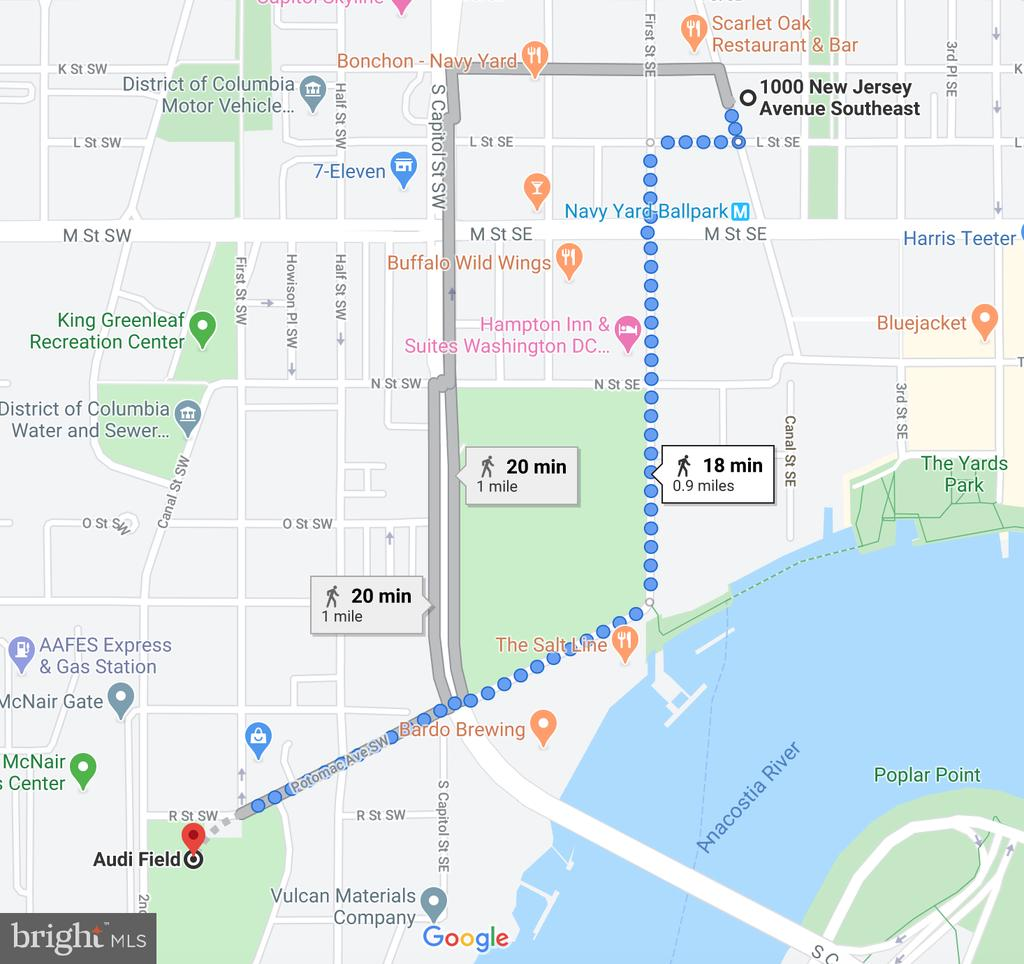 18 min walk to Audi Field - Go D.C. United! - 1000 NEW JERSEY AVE SE #606, WASHINGTON