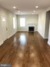 right inside door: large living / dining area - 7010 ORIOLE AVE, SPRINGFIELD