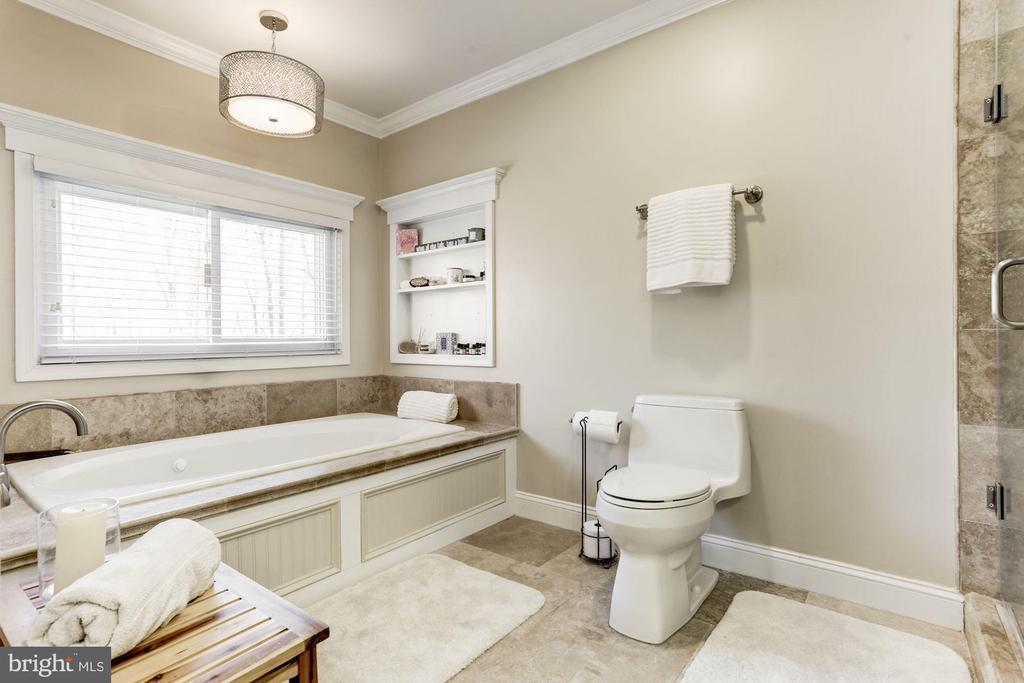 Master bathroom with jaccuzzi tub - 13701 ESWORTHY RD, GERMANTOWN