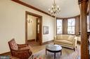 A bright and sunny living room. - 226 8TH ST SE, WASHINGTON