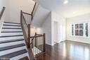 Upgraded Oak Stairs and Balusters - 43358 SOUTHLAND ST, ASHBURN