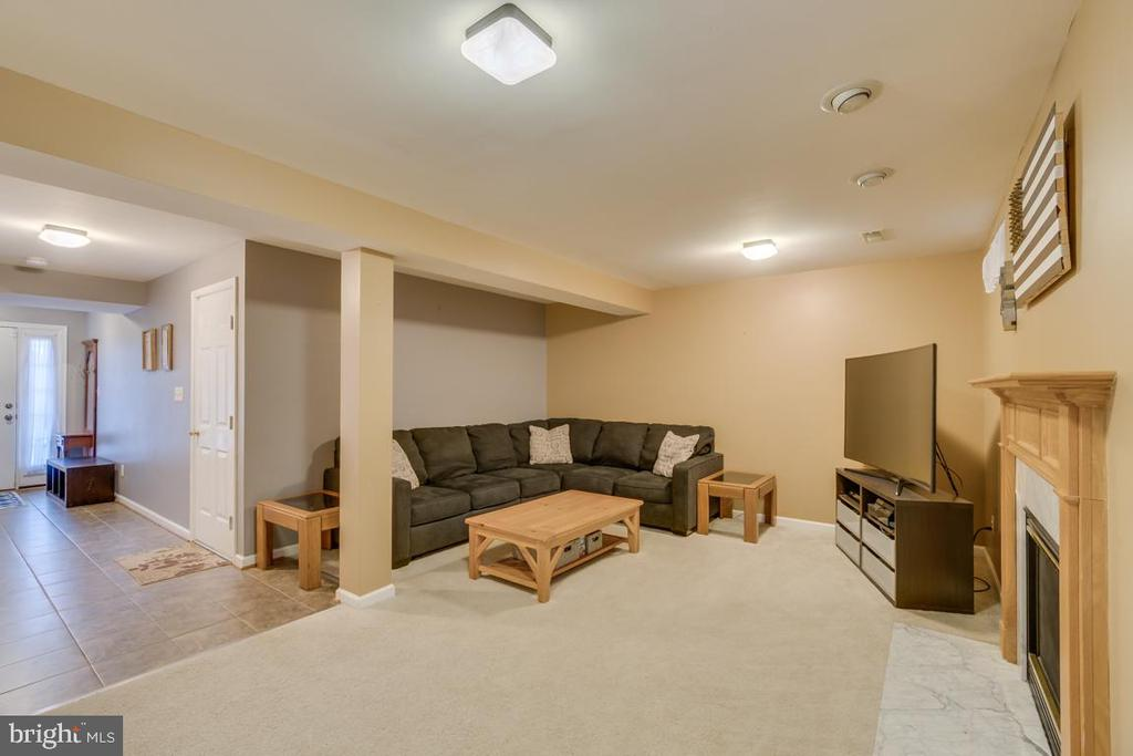 Lower Level Recreation Room - 2573 SYLVAN MOOR LN, WOODBRIDGE