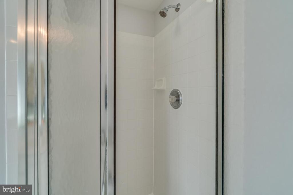 Master Bathroom Shower - 2573 SYLVAN MOOR LN, WOODBRIDGE