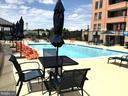 Lovely Pool in Summer - 1830 FOUNTAIN DR #502, RESTON