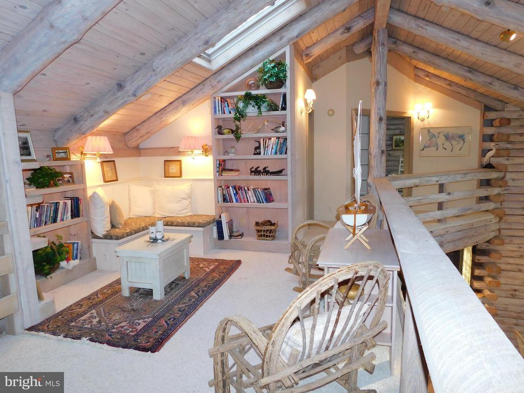 Loft/Library/Sitting Area - 11713 WAYNE LN, BUMPASS