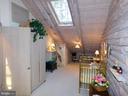 Upstairs Bedroom #4 (or nursery) with skylights - 11713 WAYNE LN, BUMPASS