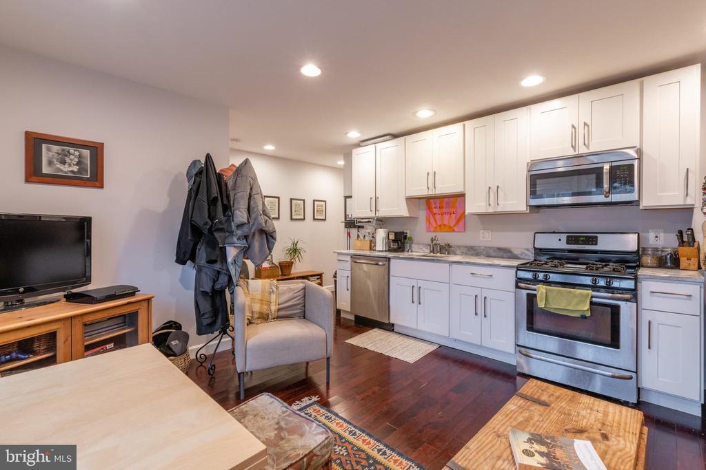 Unit 1: Kitchen/Living Room - 725 HOBART PL NW, WASHINGTON
