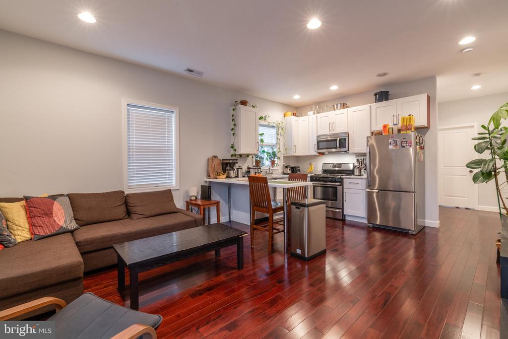 Unit 3: Living Room/Kitchen - 725 HOBART PL NW, WASHINGTON