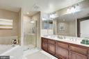Master Bedroom Bath - 1830 FOUNTAIN DR #502, RESTON