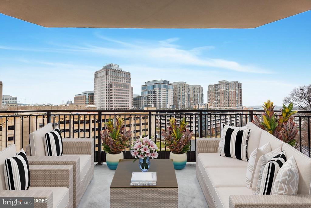 Beautiful Large Balcony - 1830 FOUNTAIN DR #502, RESTON