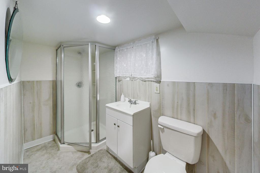 Lower Level Bath - 3404 WEBSTER ST, BRENTWOOD