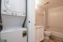 Washer and dryer - 5934 COVE LANDING RD #301C, BURKE