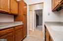 Kitchen with lots of cabinets - 5934 COVE LANDING RD #301C, BURKE