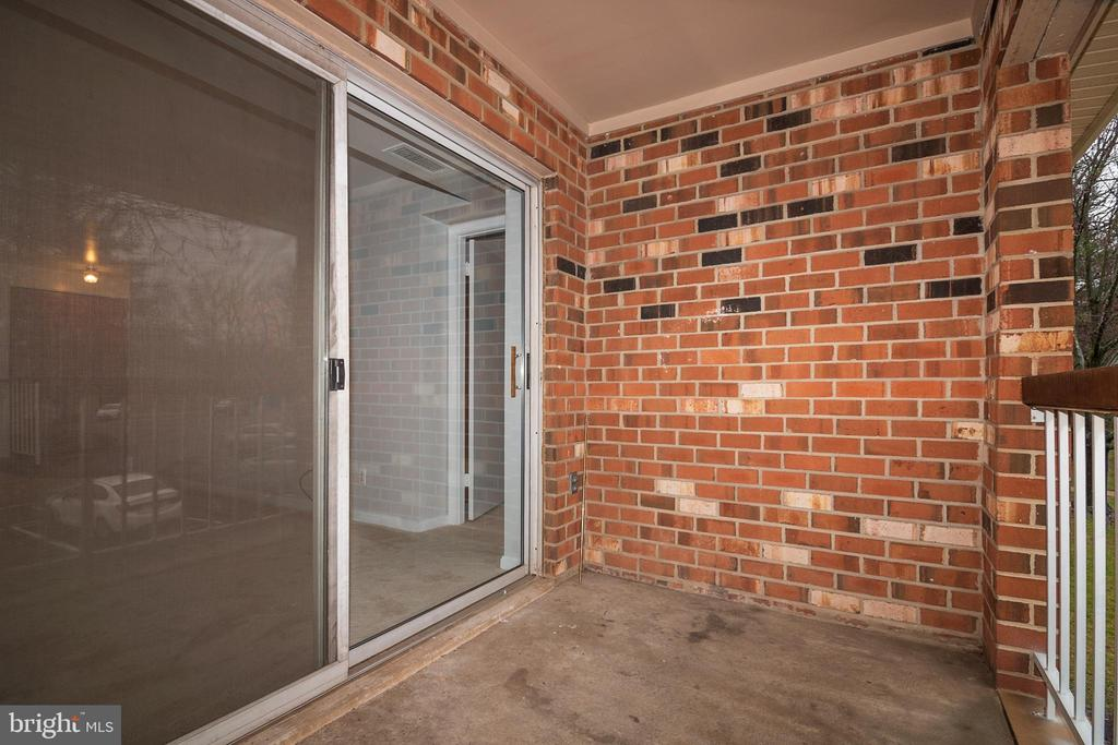 Balcony - 5934 COVE LANDING RD #301C, BURKE