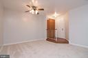 Dining room area and foyer entrance - 5934 COVE LANDING RD #301C, BURKE