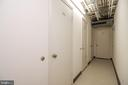 Storage room access w.locked room for unit - 5934 COVE LANDING RD #301C, BURKE