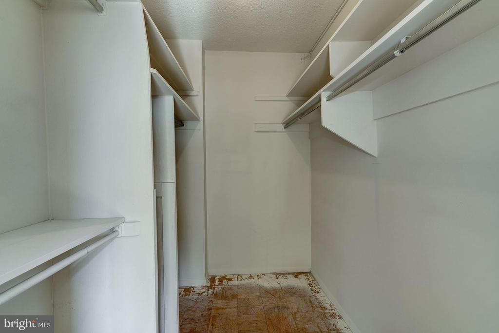 Huge walk-in closet in Master Bedroom - 4141 HENDERSON RD #324, ARLINGTON