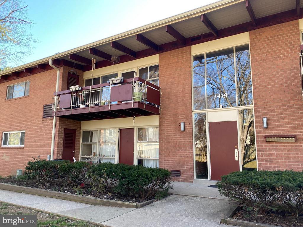 Building Front View - 3419 UNIVERSITY BLVD W #102, KENSINGTON