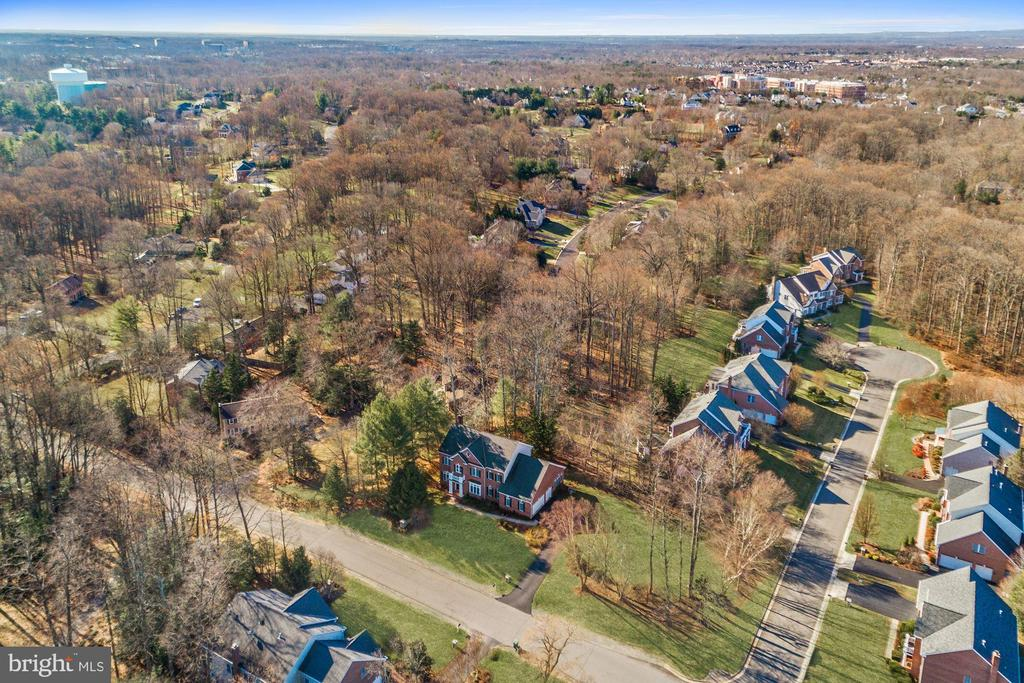 Private and Peaceful  Wooded Neighborhood - 12184 HICKORY KNOLL PL, FAIRFAX
