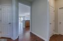 Lots of space leading to main level - 220 LONG POINT DR, FREDERICKSBURG