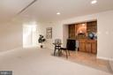 Game Room with Built Ins - 1340 DASHER LN, RESTON