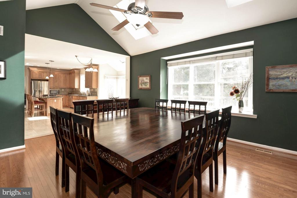 Family Room currently used as Dining Area - 1340 DASHER LN, RESTON